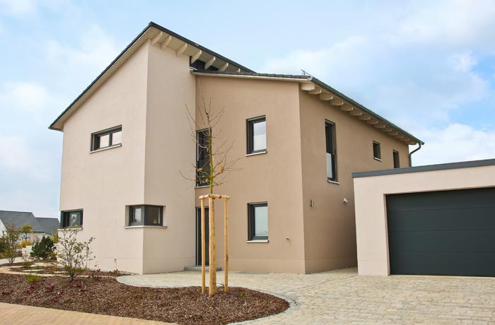 Einfamilienhaus Pultdach